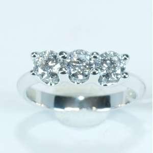 Trilogy Lab Grown diamonds C1,17  AntriGole Oro 18Kt 10056666