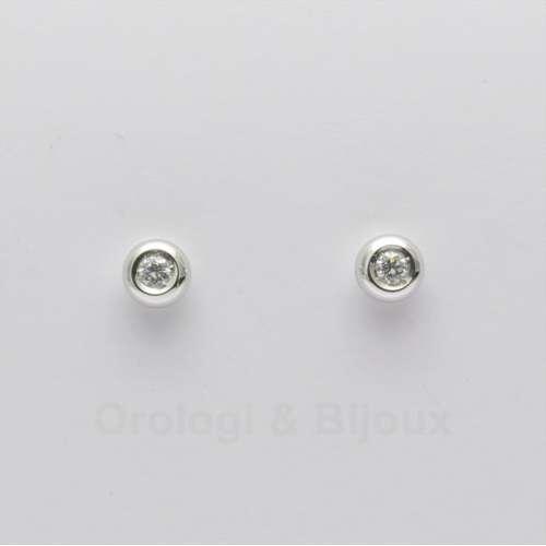 Orecchini con diamanti punto luce a cipollina GVS ORD014