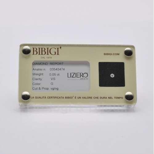 Diamante Certificato in Blister BIBIGI' 005 GVS