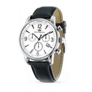 Orologio Philip Watch Heritage Kent Crono acciaio pelle R8271678001