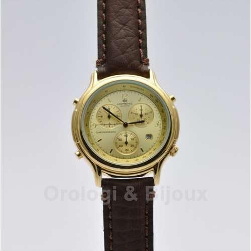 Orologio Uomo Placcato Lorenz Chrono 18173 AU