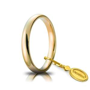 Fede Comoda UNOAERRE 3 mm 30AFC1 oro giallo