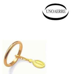 Anello Fede Classica UNOAERRE francesina g3 oro giallo 30AFN4