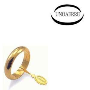 Anello Fede Classica UNOAERRE  g4 oro giallo 40AFN1
