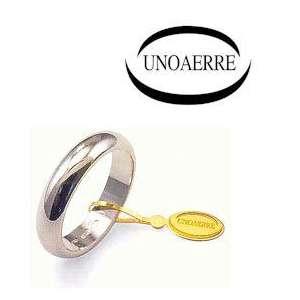 Anello Fede Classica UNOAERRE g7 oro bianco 70AFN1
