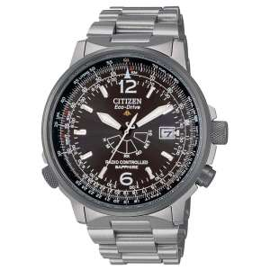 Orologio Uomo SuperTitanio Citizen Pilot Eco-Drive Radiocontrollato AS2031-57E