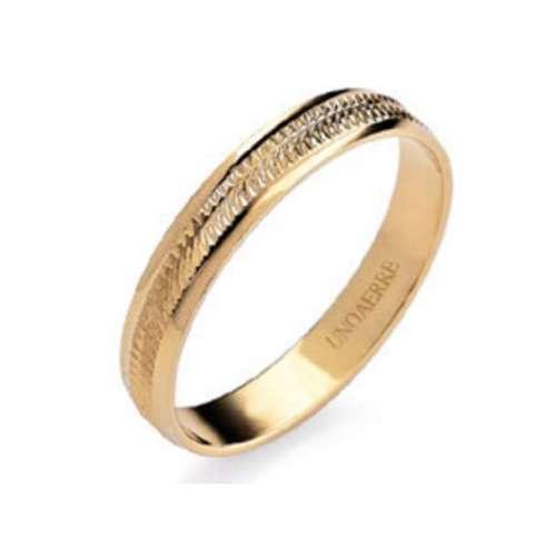 Anello Fedina classica UNOAERRE g1,70 oro giallo  AF294