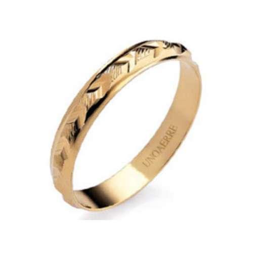 Anello Fedina classica UNOAERRE g1,70 oro giallo  AF298