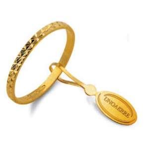 Anello Fedina classica UNOAERRE g1,50 oro giallo  AF269