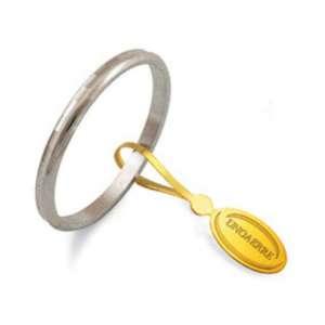 Anello Fedina classica UNOAERRE g1,50 oro bianco AF271