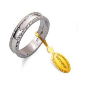 Anello Fedina classica UNOAERRE g2,70 oro bianco AF235