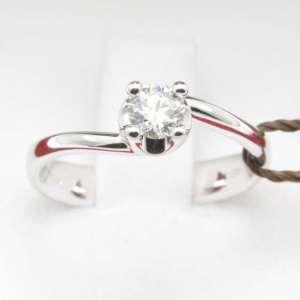 Diamante Bibigì C.037 ELLE  Anello solitario AN0029B
