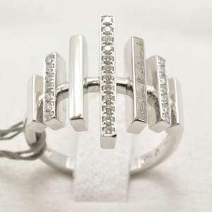 Salvini Anello oro bianco e diamanti Diva e Divina 20016691 240