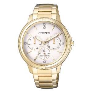 Orologio Donna Multifunzione Dorato Citizen Lady FD2032-55A