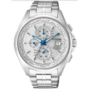 Radiocontrollato  Citizen H800 Elegance  Quadrante Silver  Supertitanio AT8130-56A