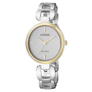 Orologio Lady Eco-Drive Bicolore Citizen EM0424-88A