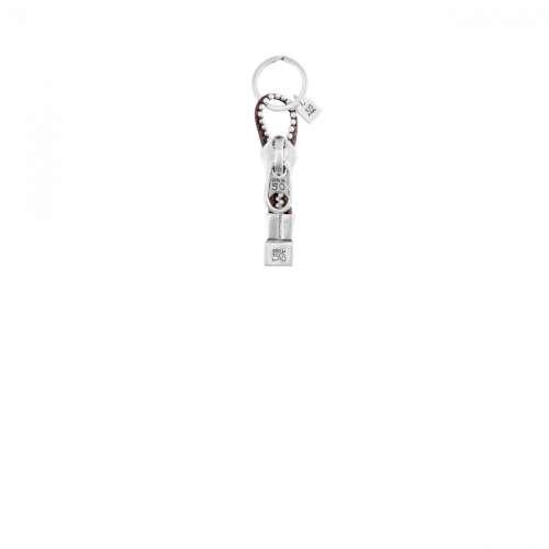 Portachiavi Silver Pelle 2008 LLA0148MTLMAR0U UnoDe50