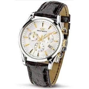 Orologio Cronografo vintage Uomo Philip Watch Sunray R8271908002