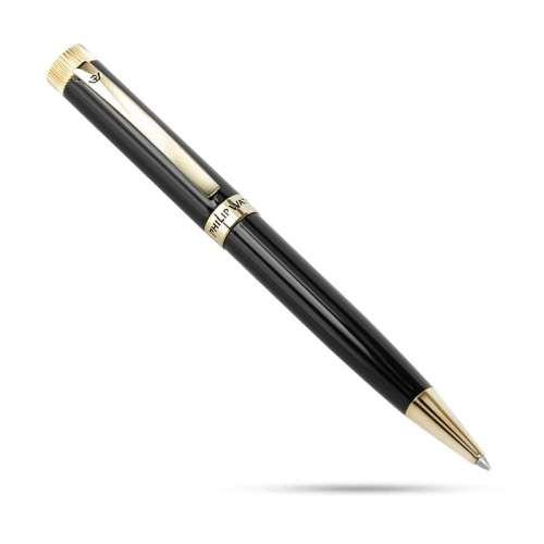 penna uomo gioielli Philip Watch  J820614 nero oro