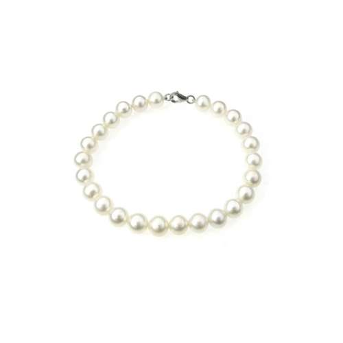 Bracciale Perle coltivate Fresh Water 4/4,5 Demetra Oro B